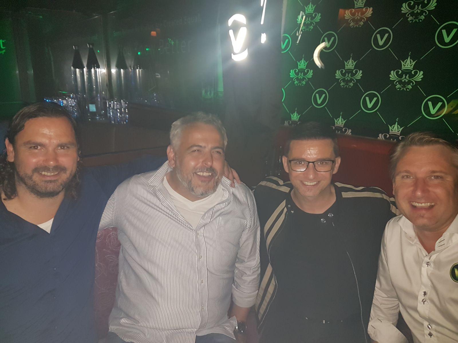 Mario Santer, Peter Rothschädl, Marco Ventre, Eigentümer Ing. Rüdiger Kopeinig